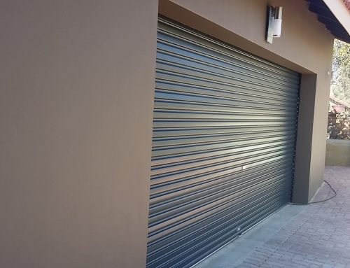 Charcoal Colour Garage Door