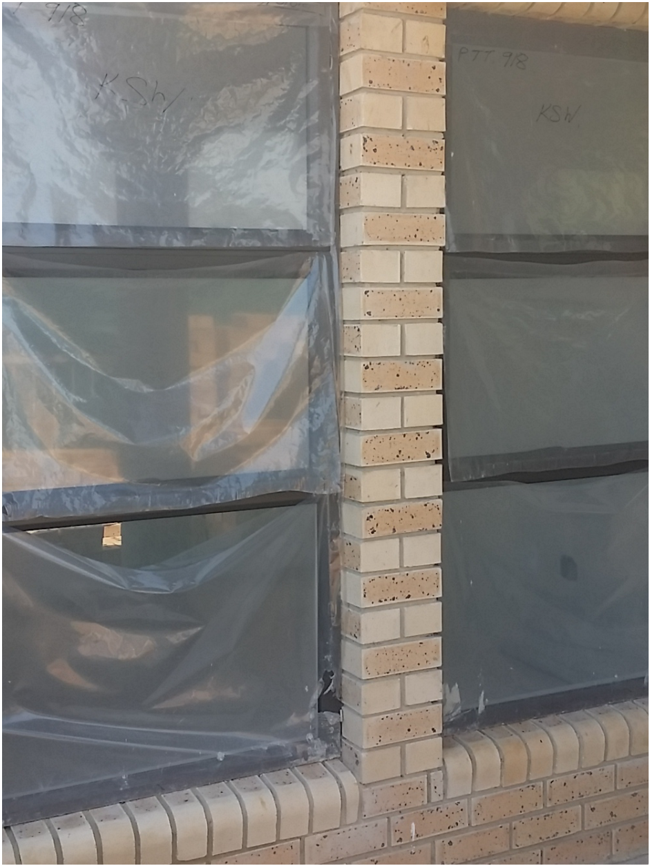 Tip keep plastic on when installing the windows for Window plastic