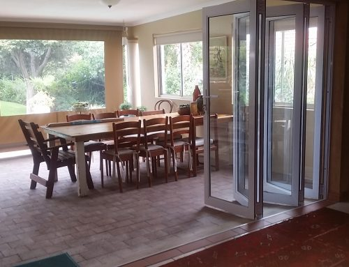Folding Doors – Integrating home with garden