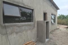 Bronze Top Hung Window