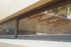 Big Narrow Sliding window bronze alumininium