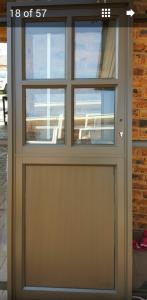 Top cottage pane and bottom aluminium