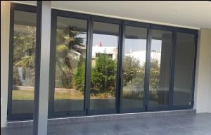 Stacking folding doors from Windorpro