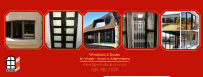 Windorpro Windows in aluminium, wood or steel