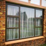 Alumnium top hung window 2400x1800