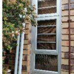 Aluminium top Hung window 600x1800 2 vents